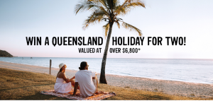 Webjet – Win a return flight for 2 to Brisbane, Gold Coast and Sunshine Coast for 7 nights