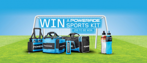 Woolworths Everyday Rewards – Win 1 of 200 Powerade Sports kits