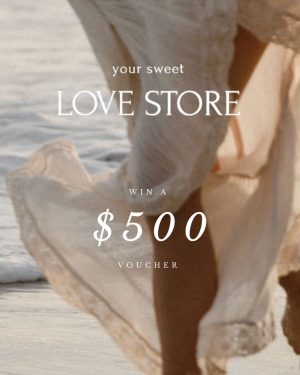 Your Sweet Love Store – Win a $500 voucher