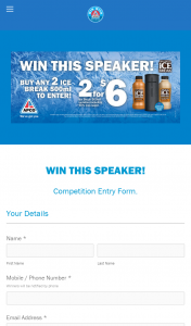 APCO SERVICE STATIONS – Icebreak – Win this Speaker Competition (prize valued at $229)