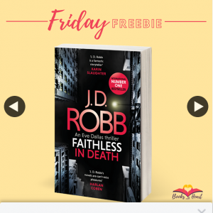 Books with Heart – Win 1 of 5 Copies of Faithless In Death By Jd Robb 📚