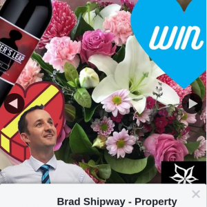 Brad Shipway Property – Win a Bouquet of Flowers @aspleyflorist Box of Chocolates & a Bottle of Wine 💐