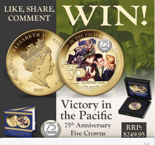 Bradford Exchange Australia – Win Victory In The Pacific Five Crowns
