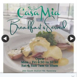 Casa Mia Ipswich – Win a $50 Breakfast Voucher for Two (prize valued at $50)