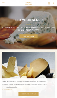 Castello – Win a Year's Supply of Castello Cheese (prize valued at $1,000)
