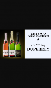 Channel 7 – Sunrise – Win $300 Worth of The Finest Champagne Duperrey Wines (prize valued at $300)
