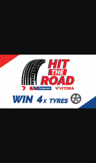 Channel 7 – Tyrepower / Vitora – Win 4 Vitora Tyres and a $500 Gift Voucher (prize valued at $12,000)