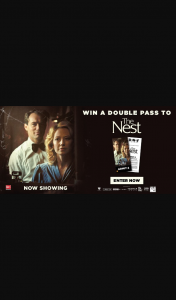 Dendy Cinemas – Win One of Five The Nest Double Passes