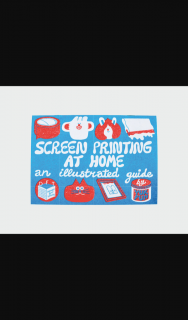 Frankie – Win a Copy of Screen Printing Guide