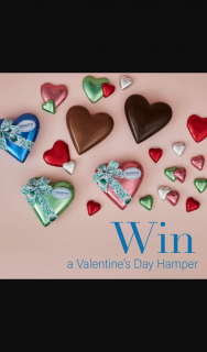 Haighs – Win Five Delicious Chocolate Filled Hampers (prize valued at $130)