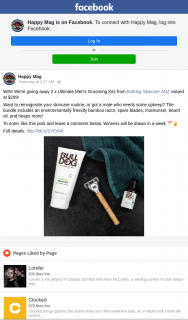 Happy mag – Win One of Two Bulldog Ultimate Men's Grooming Kits