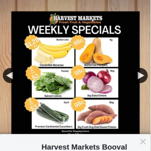 Harvest Markets Booval – Win a $50 Store Voucher