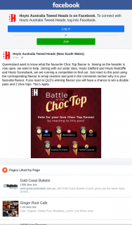 Hoyts Cinemas Tweed Heads – Win a Double Pass and 2 Choc Tops