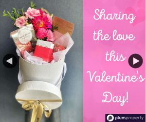 Kym Saunders Plum Property – Win a Valentine's Day Hamper