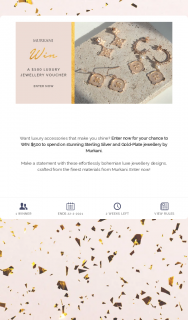 Murkani Jewellery – Win $500 to Spend on Stunning Sterling Silver and Gold-Plate Jewellery By Murkani (prize valued at $500)