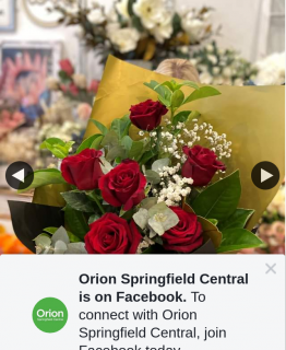 Orion Springfield Central – Win a Rose Bouquet (prize valued at $95)