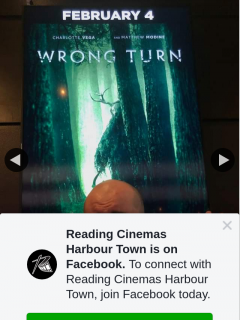 Reading Cinemas Harbour Town – Win a Wrong Turn Double Pass