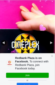 Redbank Plaza – Win One of Ten $15 Cineplex Redbank Plaza Gift Cards