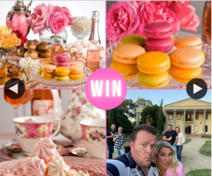 South Aussie With Cosi – Win a High Tea at Barossa Chateau on Valentine's Day
