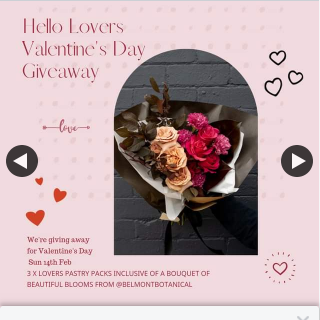 The Baker's Duck – Win One of Three Valentine's Day Packs