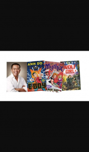 The Sunday Times – Win 1 of 3 Anh Do Book Packs Including