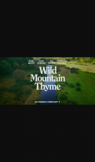 91.7 The Wave – Win Tickets to The Movie Wild Mountain Thyme