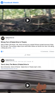 Yatala drive-in theatre – Win a Free Car Pass