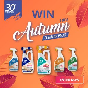 30 Seconds Australia – Win 1 of 4 complete Autumn Clean prize packs