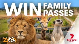 7News – Win 1 of 100 Family Passes for 4 to Sydney Zoo
