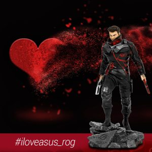 ASUS – Win 1 of 3 Limited Edition ROG Horsem4n figurines