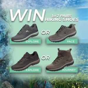 Ascent Footwear – Win 1 of 2 pairs from the Hiking range
