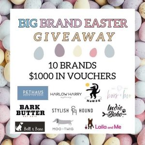 Bark Butter – Win $1,000 in vouchers to be used towards Aussie pet brands