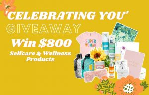 Be Fraicher – Win a fabulous prize pack valued at $800 filled with selfcare & wellness items