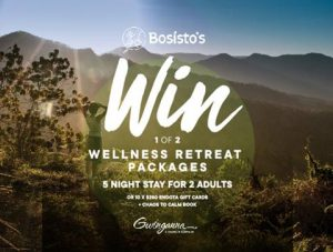 Bosisto's – Win 1 of 2 Wellness Retreat prize packages OR 1 of 10 Endota spa vouchers
