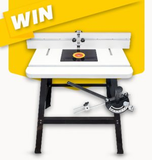 Carbitool – Win a Router Table & Mitre Gauge