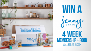 Channel Seven – Sunrise Family Newsletter – Win 1 of 2 Jenny Craig prize packages valued at over $700 each