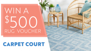 Channel Seven – Sunrise Family Newsletter – Win a $500 Rug voucher from Carpet Court Online