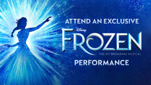 Channel Seven – Sunrise 'Frozen' – Register for Sunrise's filming of a Frozen The Musical excerpt to Receive a free ticket to Frozen the Musical in Sydney