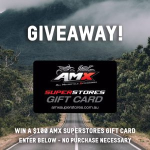 Culto Moto – Win a $100 AMX Superstores gift card