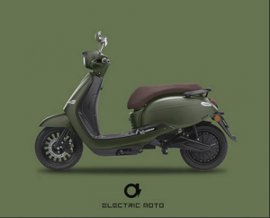 Earth Hour – Win a brand new Fonz Moto electric scooter