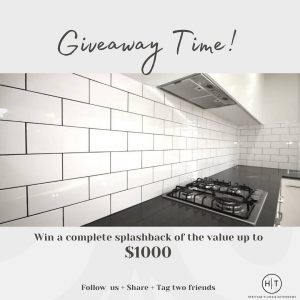 Heritage Tiling And Bathrooms – Win a splashback valued at $1,000