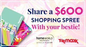 Homeworld Helensvale – Win a shopping spree valued at $600