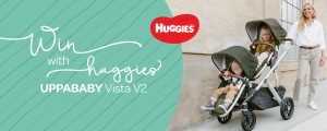 Huggies – Win a Uppababy Vista 2 valued at over $1,600