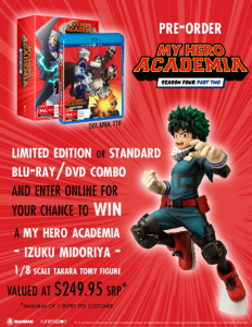 JB Hi-Fi – My Hero Academia – Win a My Hero Academia Izuku Midoriya 1/8 scale Takara Tomy Figure valued at over $249