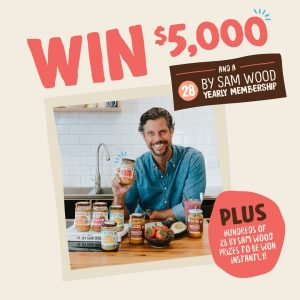 Mayver's – Make a Good Start with Mayver's – Win a major prize of $5,000 cash PLUS a year membership to 28 by Sam Wood OR other instant prizes