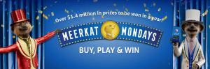 Meerket Mondays – Win 1 of 2 major prizes of a Mini Cooper – 5 Door each valued at over $40,000 OR 1 of many other minor prizes