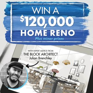 Mitre 10 Australia – Win a major prize package valued up to $120,000 OR 1 of 5 minor prizes