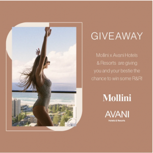 Mollini Shoes – Win a trip for 2 to Melbourne, Gold Coast or Adelaide, a 2-night stay PLUS a $500 Mollini voucher
