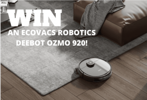 Mouths of Mums – Win an Ecovacs Robotics Deebot Ozmo 920 valued at $899