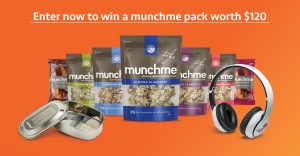 MunchMe Food – Win 1 of 10 prize packs